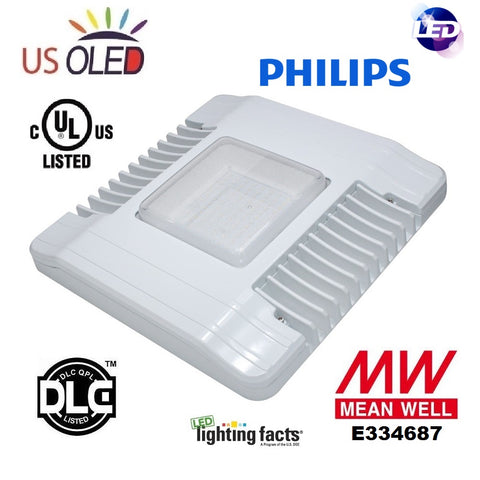 Flat LED (Gas Station) Canopy Lights ...  sc 1 st  US OLED Lighting Corp. - Shopify & Flat LED (Gas Station) Canopy Lights u2013 U.S. OLED Lighting Corp.