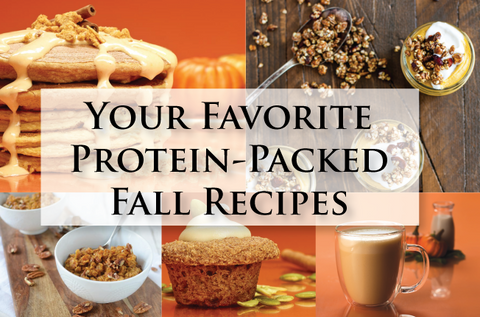 Protein Packed fall recipes