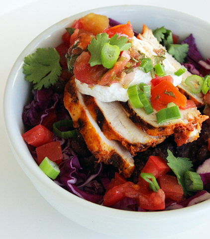 Fresh, Filling, and Healthy Burrito Bowl