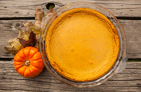 Healthy Thanksgiving Recipes - Protein Packed Pumpkin Pie