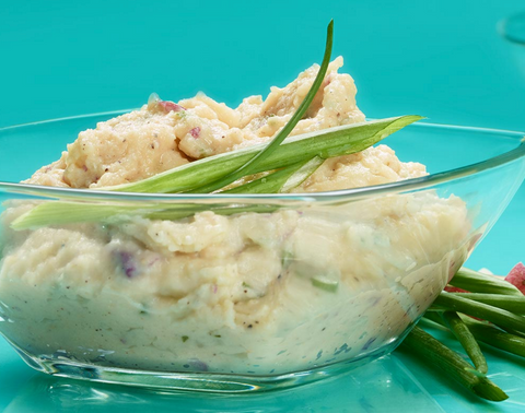Healthy Thanksgiving Recipes - Garlic Mashed Potatoes