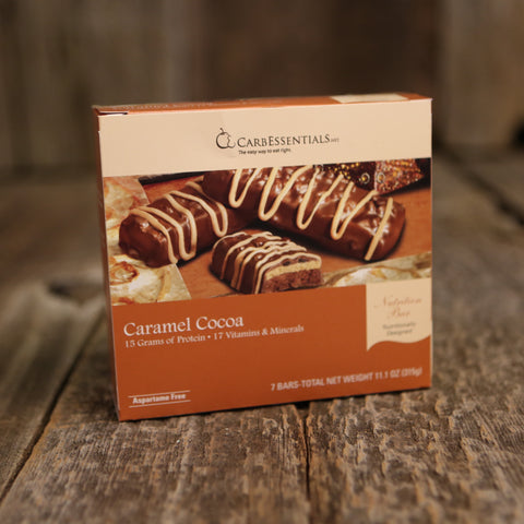 CarbEssentials 15g Bars Caramel Cocoa  - 1
