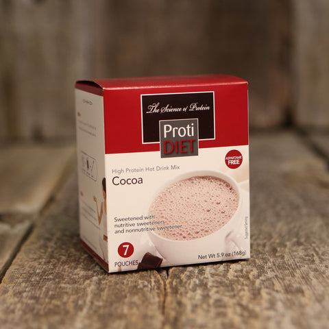 ProtiDiet Hot Cocoa 7 Packet Box / Hot Cocoa  - 1