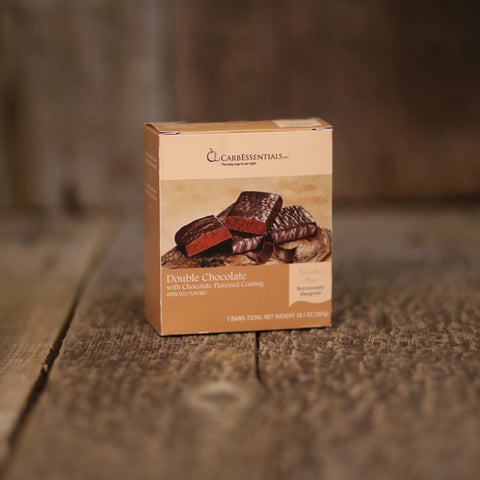 CarbEssentials Protein Bars Double Chocolate Bar  - 13