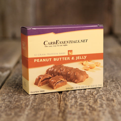 HealthyWeight Protein Bars Peanut Butter & Jelly  - 1