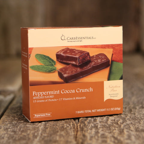 CarbEssentials 15g Bars Peppermint Cocoa Crunch  - 6