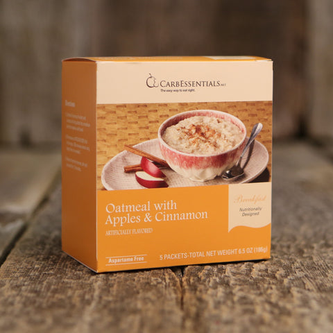 CarbEssentials Apple Cinnamon Oatmeal