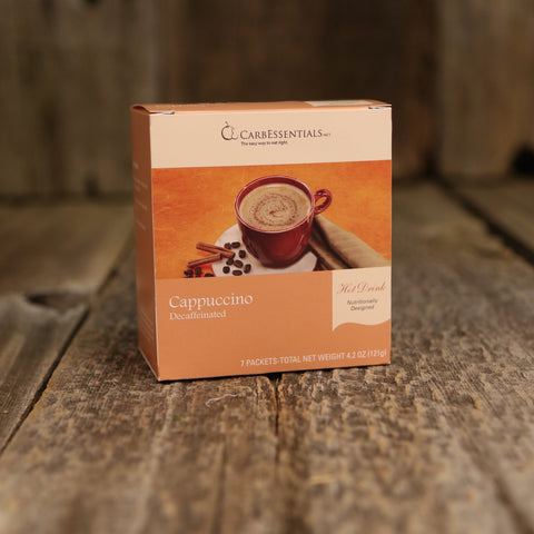 CarbEssentials Hot Drinks Cappuccino Decaf  - 3