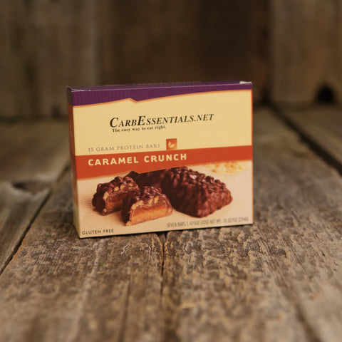 HealthyWeight Protein Bars Caramel Crunch  - 4