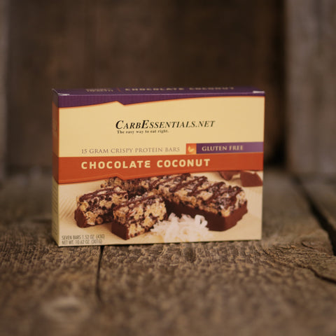 HealthyWeight Crispy Protein Bars Chocolate Coconut  - 5