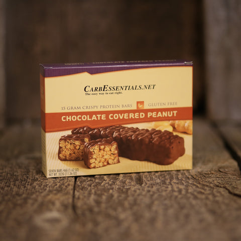 HealthyWeight Crispy Protein Bars Chocolate Covered Peanut  - 2