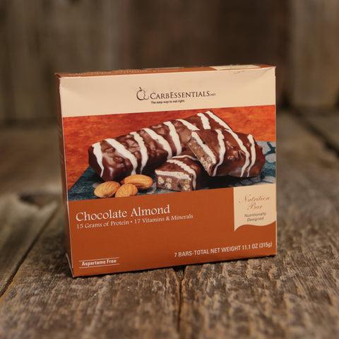 CarbEssentials 15g Bars Chocolate Almond  - 2