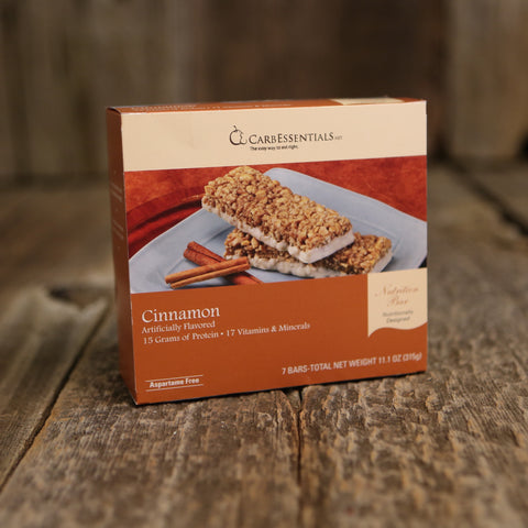 CarbEssentials 15g Bars Cinnamon  - 3