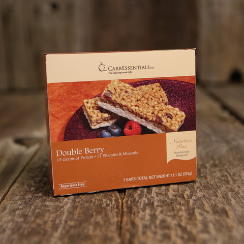 CarbEssentials 15g Bars Double Berry  - 4