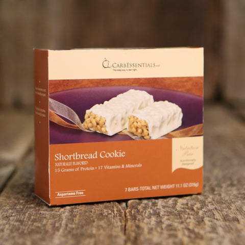CarbEssentials 15g Bars Shortbread Cookie  - 7