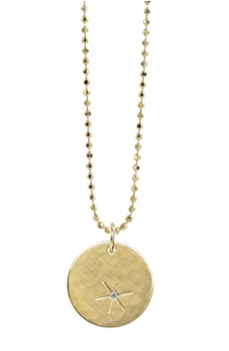 Julez Bryant Skip 14k Small Gold Necklace