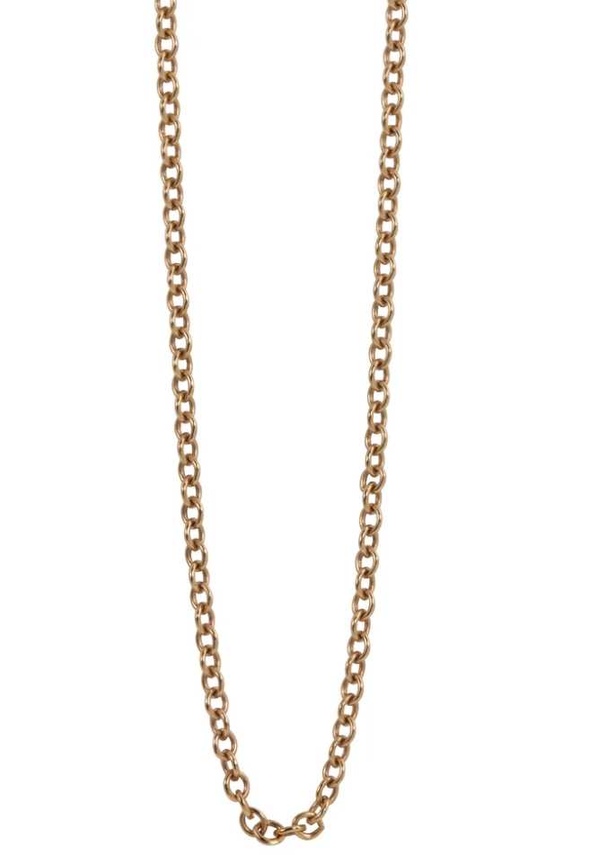 Julez Bryant 1.5mm Gold Rolo Link Chain