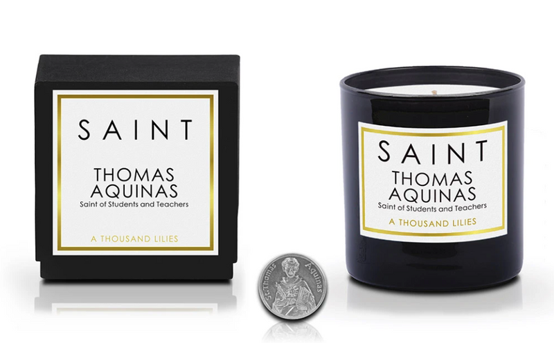 Saint Thomas Aquinas Candle
