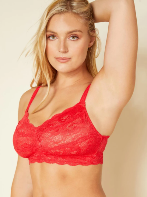 COSABELLA NEVER SAY NEVER BRALETTE -ROSSETTO