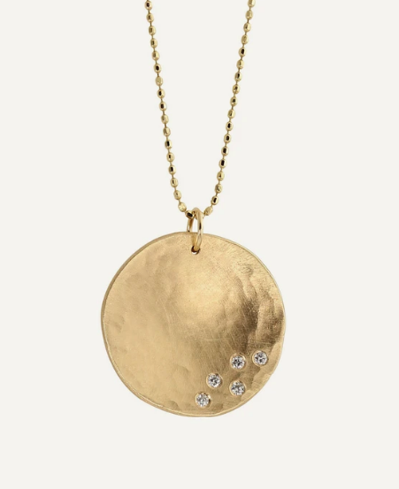 Julez Bryant Megg Large Necklace - 14k Gold