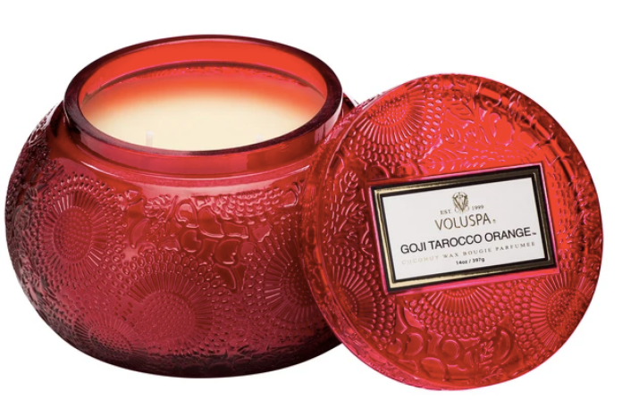 Voluspa - Goji Tarocco Orange Bowl Candle