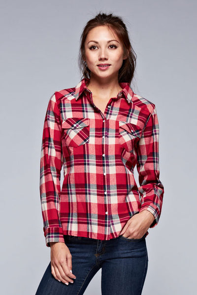 Checkered Plaid Shirt