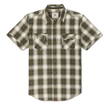 The KAi Short Sleeve Western Plaid