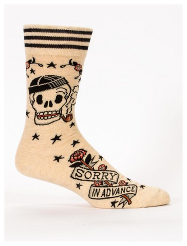 Sorry In Advance M-Crew Socks