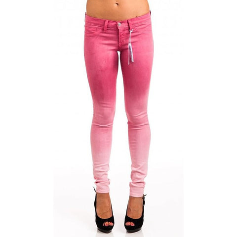 Flying Monkey L7522 Pink Ombre Jeggings - Anonymous L.A. - 1