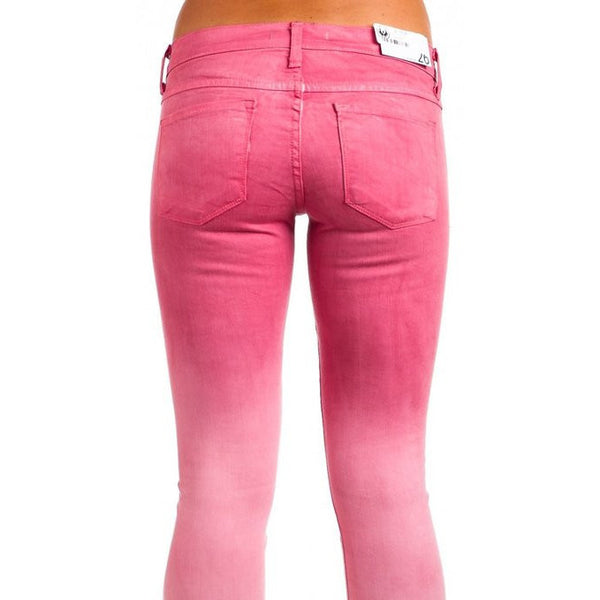 Flying Monkey L7522 Pink Ombre Jeggings - Anonymous L.A. - 3