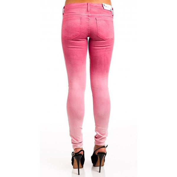 Flying Monkey L7522 Pink Ombre Jeggings - Anonymous L.A. - 2