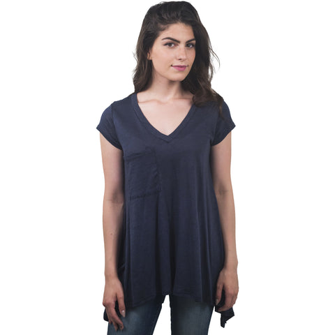 V-Neck Pocketed T-Shirt - Anonymous L.A. - 1