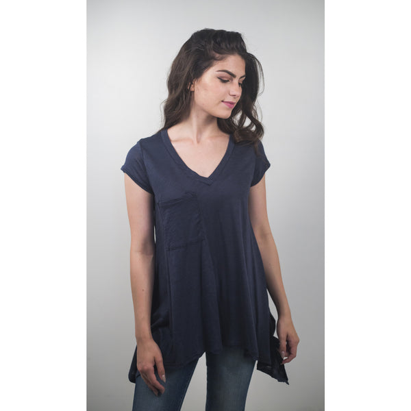 V-Neck Pocketed T-Shirt - Anonymous L.A. - 2