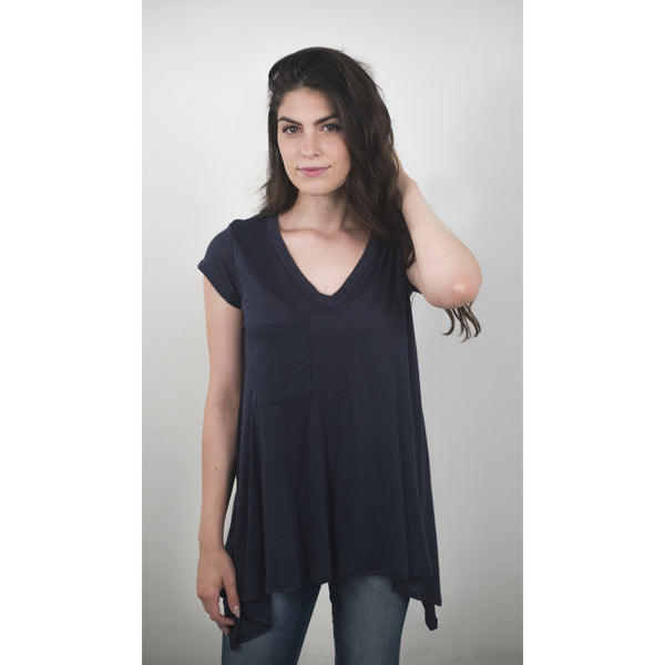 V-Neck Pocketed T-Shirt - Anonymous L.A. - 5