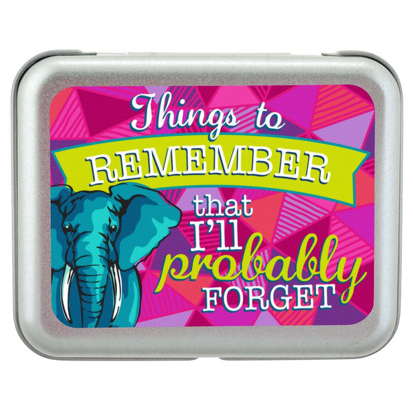BITCH BOXES ELEPHANT - Things to remember