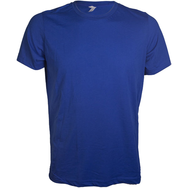 Heather True Royal Crewneck T-Shirt