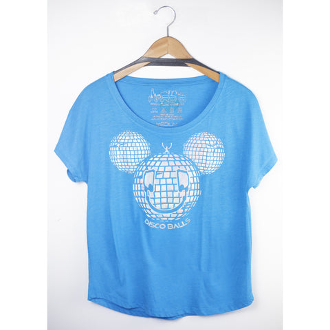 Disco Balls French Terry Dollman Tee