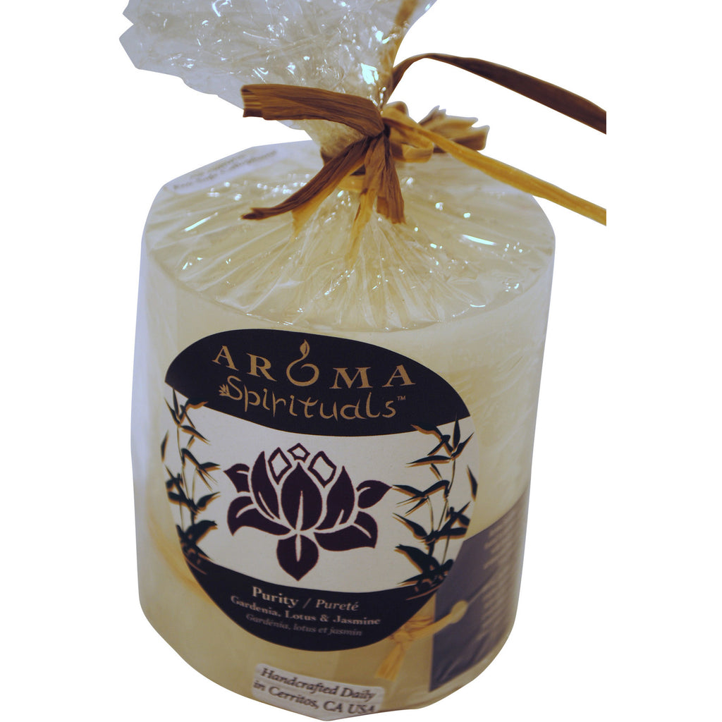 Aroma Spirituals Purity Candle - Anonymous L.A.