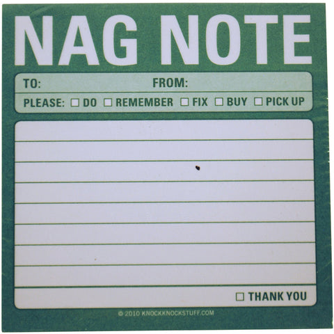 Nag Note - Anonymous L.A.