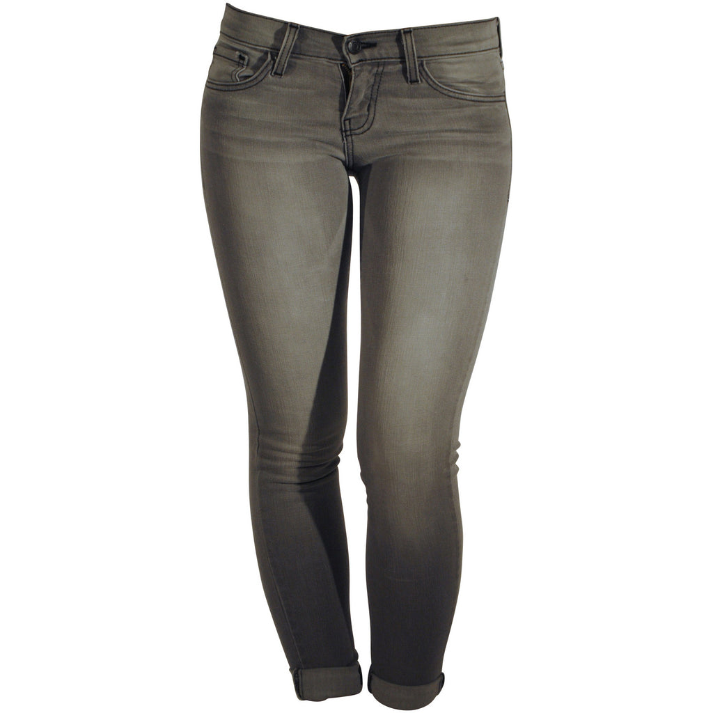 Flying Monkey L8355 Skinny Grey 5 Pocket Jeans - Anonymous L.A.