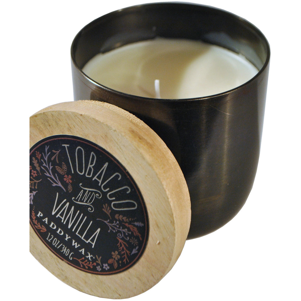 Silver Tin Tobacco & Vanilla Candle - Anonymous L.A. - 1