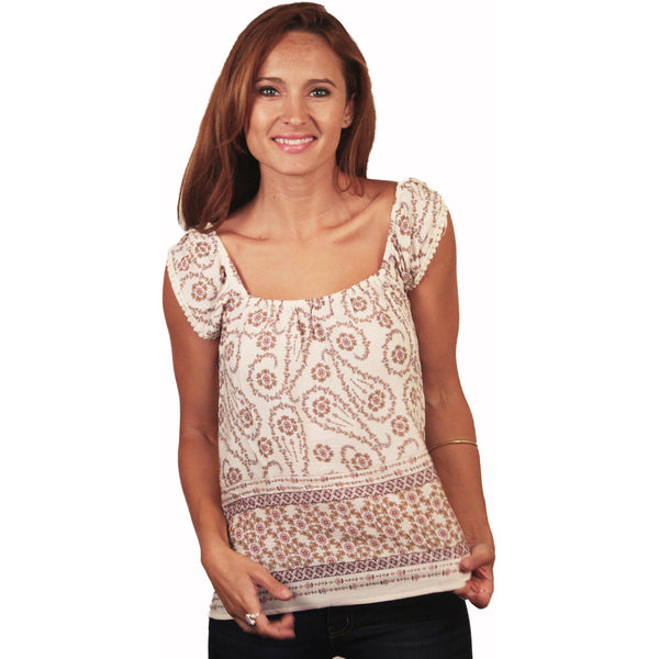 Daisy Paisley Top - Anonymous L.A. - 3