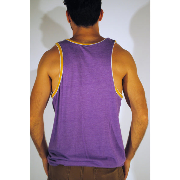 Purple Double Ringer Tank - Anonymous L.A. - 2