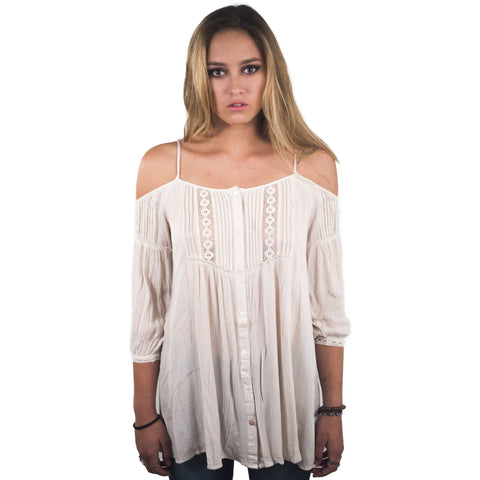 Cold Shoulder Tunic - Anonymous L.A. - 1