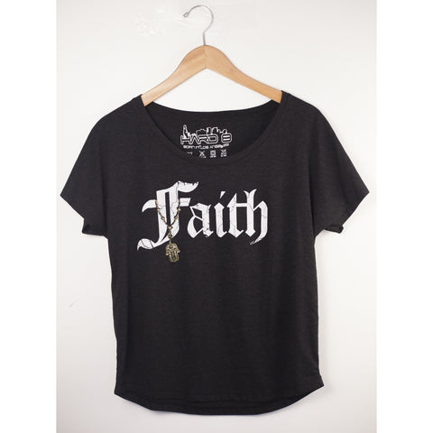 Faith Hamsa French Terry Dollman Tee