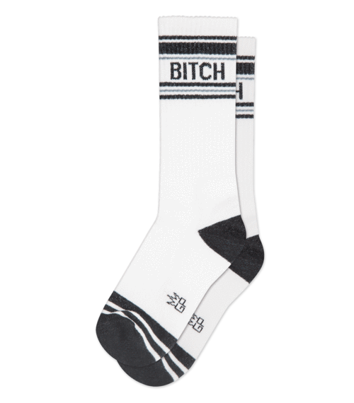 """ BITCH"" - Gym Socks"