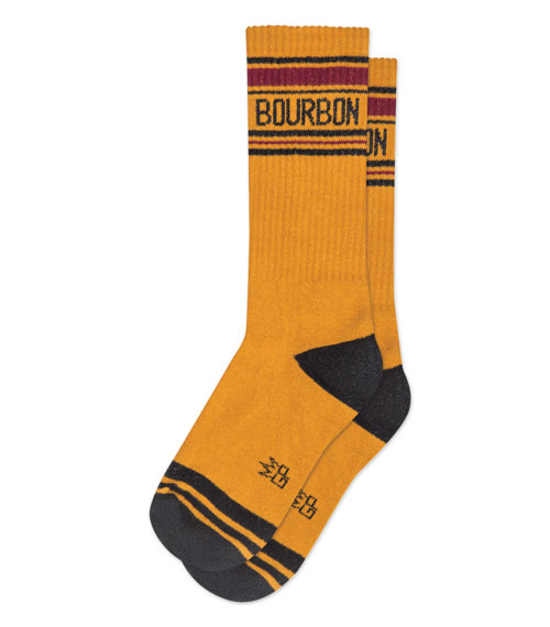 """BOURBON"" - Ribbed Gym Sock"