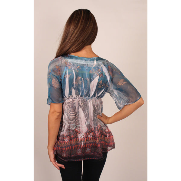 Till The End Paisley Tunic - Anonymous L.A. - 3