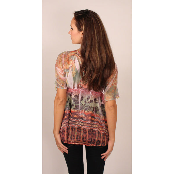 Till The End Paisley Tunic - Anonymous L.A. - 5