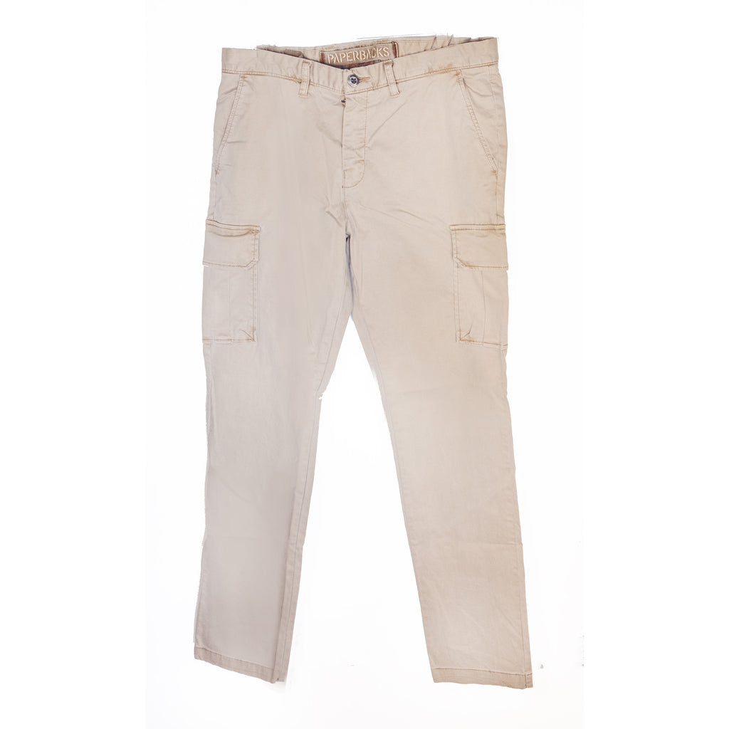 Khaki Chino Pants with Pockets